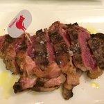 Wicked NY steak. Fabulous .