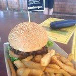 Great Burger at Humty Doo
