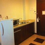 Kitchenette in room