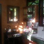 Kitchen in morning sun