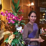 Lovely Thai smile @Siam Balcony