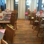 Le restaurant de l'hôtel ibis..