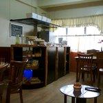 dining area & mini bar