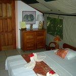 Das Zelt innen