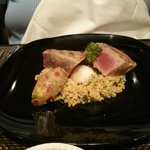 Tuna steak made to perfection