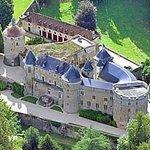 Château de Chastellux - Vue du ciel