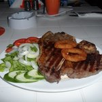 T-Bone Steak & Side Salad