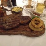 The club steak special at mpw Chester! Probably the beat peace if red meat iv eaten, 24ozribeye