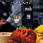 Baghala polo at Restaurant Yas