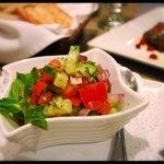 Salad Shirazi at Restaurant Yas