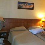 Room 32 of Hotel Royal Phare in September 2014