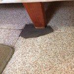 Lo stucco nel pavimento!