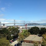 Excellent view of the Bay Bridge!