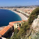 The castle at Nice