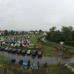 Magnifique vue jardin/parking!!!!!