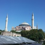 Hagia Sophia from our room