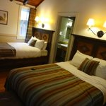 Twin Double beds - very cosy