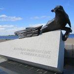 Памятник Тюленю – спасителю жителей Архангельска и блокадного Ленинграда