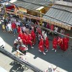 Vieuw vanuit de Mekong room