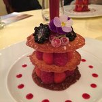 Dessert du menu... Trop bon et original !