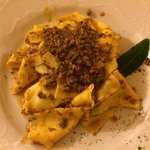 Traditional Tuscan pasta with wild boar. Delicious!!!!