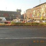 Arquitectura vista desde la plaza Del Zocalo