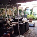Hotel Rubens courtyard