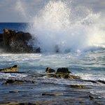 The not so Pacific surf-Heisler Park