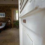 La Piedra-front door leading into bedroom