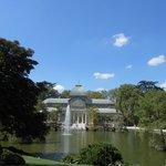 Vista do Palácio do lago