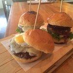 Mini hamburguesas de buey