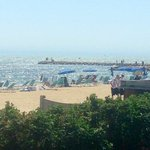 From Red Jacket view of beach!��