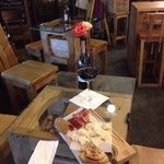 Nice Wine bar in Yerevan for a good glass of wine and a light snack.