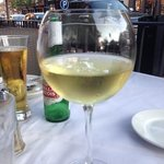 Drinks before dinner and people watching on King Street