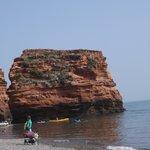 one of the three rocks