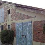 barn on the property fienile sulla proprietà