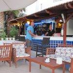 Excellent pool side bar service