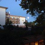 Súper luna desde la habitación