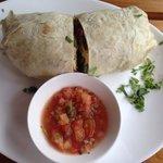 Breakfast Burrito! Amazing!