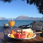 perfect relaxing breakfast