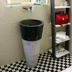 Un aperçu de la salle de bain