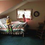 Peach Calico Room