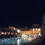 Steigenberger Golf resort at night