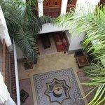 Vue Riad depuis la Terrasse