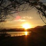 Pôr do sol em Ibiraquera
