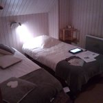 camera da tre letti nel sottotetto