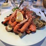 Piatto di frutti di mare... Squisito!