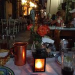 Wonderful ambiance & most gracious host Nikos