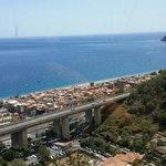 Foto panoramica da su in hotel