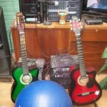 Guitars for the guest